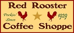 PRIMITIVE STENCIL ITEM #1518- Red Rooster