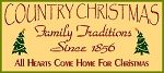 PRIMITIVE STENCIL ITEM #1564-Country Christmas