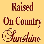 PRIMITIVE STENCIL ITEM #2687- Raised on Country Sunshine