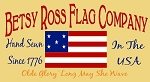 PRIMITIVE STENCIL ITEM #2894- Betsy Ross Flag Company
