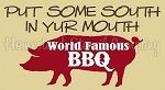 Put some South in Yur Mouth Stencil - Reusable Stencil for wood signs - Primitive stencils -6282