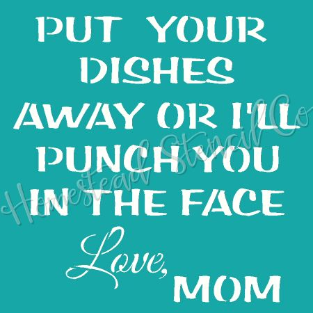 Put Your Dishes Away