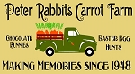 Peter Rabbits Carrot Farm Vintage Truck