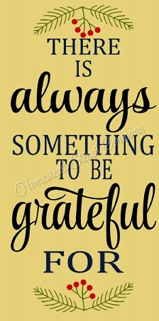 There is Always Something to be Thankful for Stencil- Reusable Mylar Stencil - DIY Sign stencils for wood signs -8894