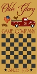 Olde Glory Vintage Red Truck Checker Game Board Stencil - Reusable Mylar Sign Stencils -8960 (COPY)