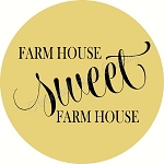 Farm House Sweet  Farm House door hanger