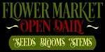 Flower Market Open Daily