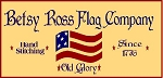 PRIMITIVE STENCIL ITEM #1095- Betsy Ross Flag Company