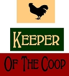 Keeper Of The Coop 3pc Set