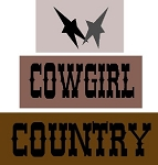 Cowgirl Country 3pc Set