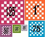 Checker boards SET