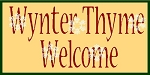 Winter Thyme Welcome
