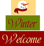 Winter Welcome 3pc Set