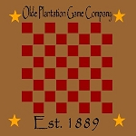 Olde Plantation Game Company Checker Board