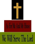 As For Me And My House We Will Serve The Lord 3pc Set