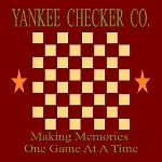 Yankee Checker Company Checker Board