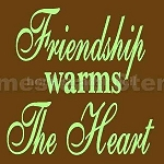 Friendships Warm the Heart