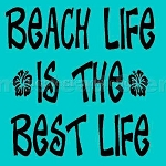 PRIMITIVE STENCIL ITEM #3379- Beach Life is the Best Life