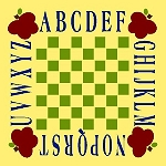 ABC's Checker Board