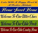 Home Sweet Home 5pc Set
