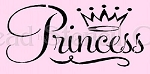 PRIMITIVE STENCIL ITEM #5058- Princess
