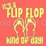 PRIMITIVE STENCIL ITEM #5377- It's a Flip Flop Kind of Day