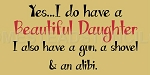 Yes.. I Do Have a Beautiful Daughter