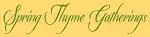ITEM 5762- Spring Thyme Gatherings-Reusable Sign Stencils- Reusable Stencil- Primitive Stencils