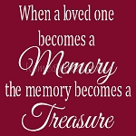 When a Loved One Becomes a Memory