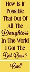 How Is It Possible - Daughters