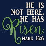 He Is Not Here  He has Risen