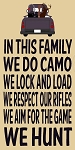In this family We Do Camo - Vintage Truck