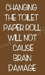 Changing The Toiler Paper Roll