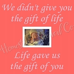We Didn't Give You The Gift Of Life
