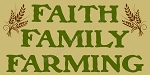 ITEM 7670- Faith Family Farming -Primitive Stencil - Reusable Sign Stencil - Make your own sign