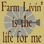 PRIMITIVE STENCIL - 2 pc OVERLAY ITEM  #7762- Farm Livin'