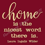 Home Is the Nicest Words