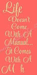 Life Doesn't Come With A Manuals