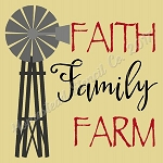 Faith Family Farm Windmill
