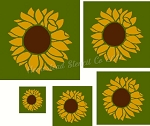 Sunflower Shapes 2
