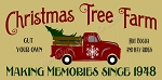 ITEM 8134- Christmas Tree Farm- Reusable Sign Stencil- Reusable Stencils