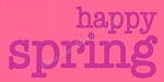 ITEM 8245- Happy Spring - Reusable  Sign Stencil  - Make your own Wooden sign-