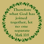 Therefore what God has joined togethers