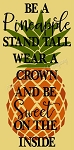 Be A Pineapple Stand Tall 2pc Overlay