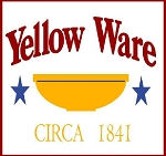 PRIMITIVE STENCIL ITEM #928- Yellow Ware