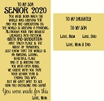 Senior 2020 Interchangeable set