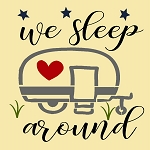 We sleep Around  camper