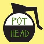 Pot Head Coffee Pot