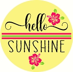 Hello Sunshine Door hanger