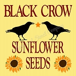 Black Crow Sunflower Seeds